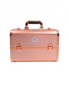 MAKEUP PRO CAJA COSM. ROSE GOLD-NEGRO