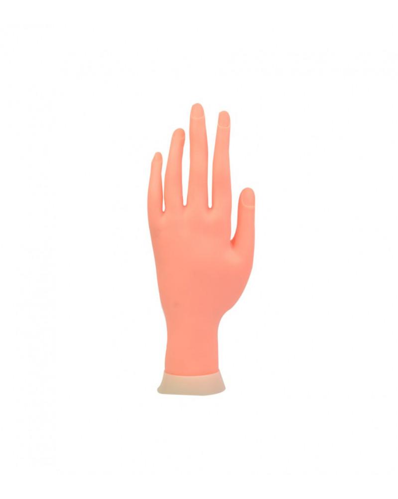 Mano de practica para uñas