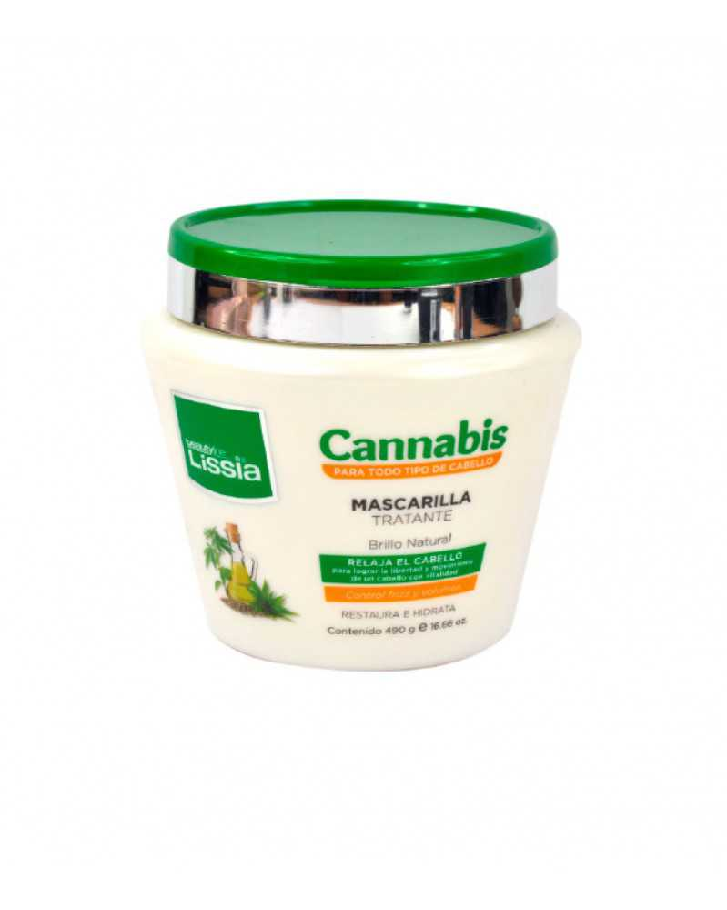 Mascarilla restauradora - cannabis 490ml.