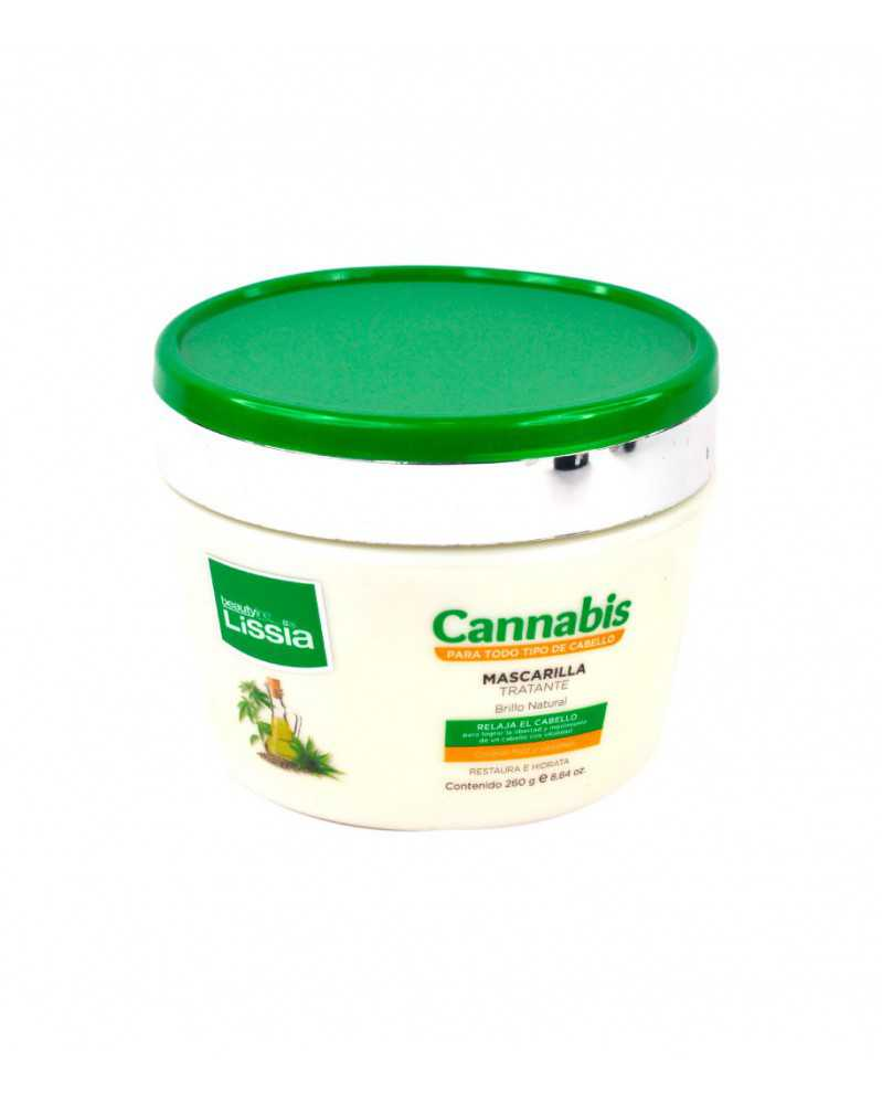 Mascarilla restauradora - cannabis 260ml.